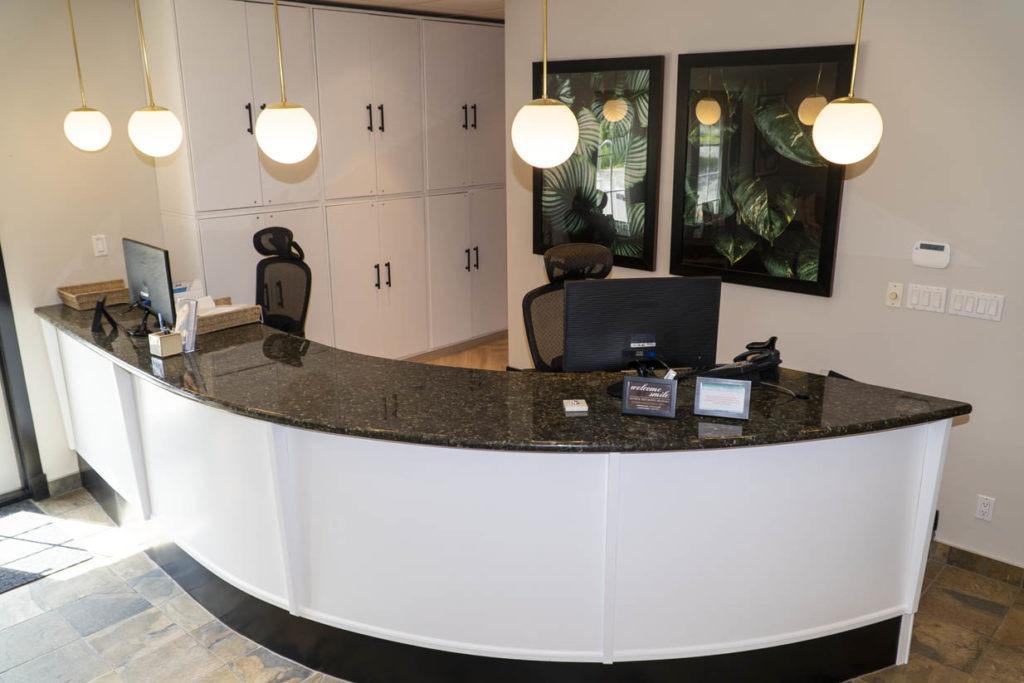 Welcome Smile Dental | Reception Desk