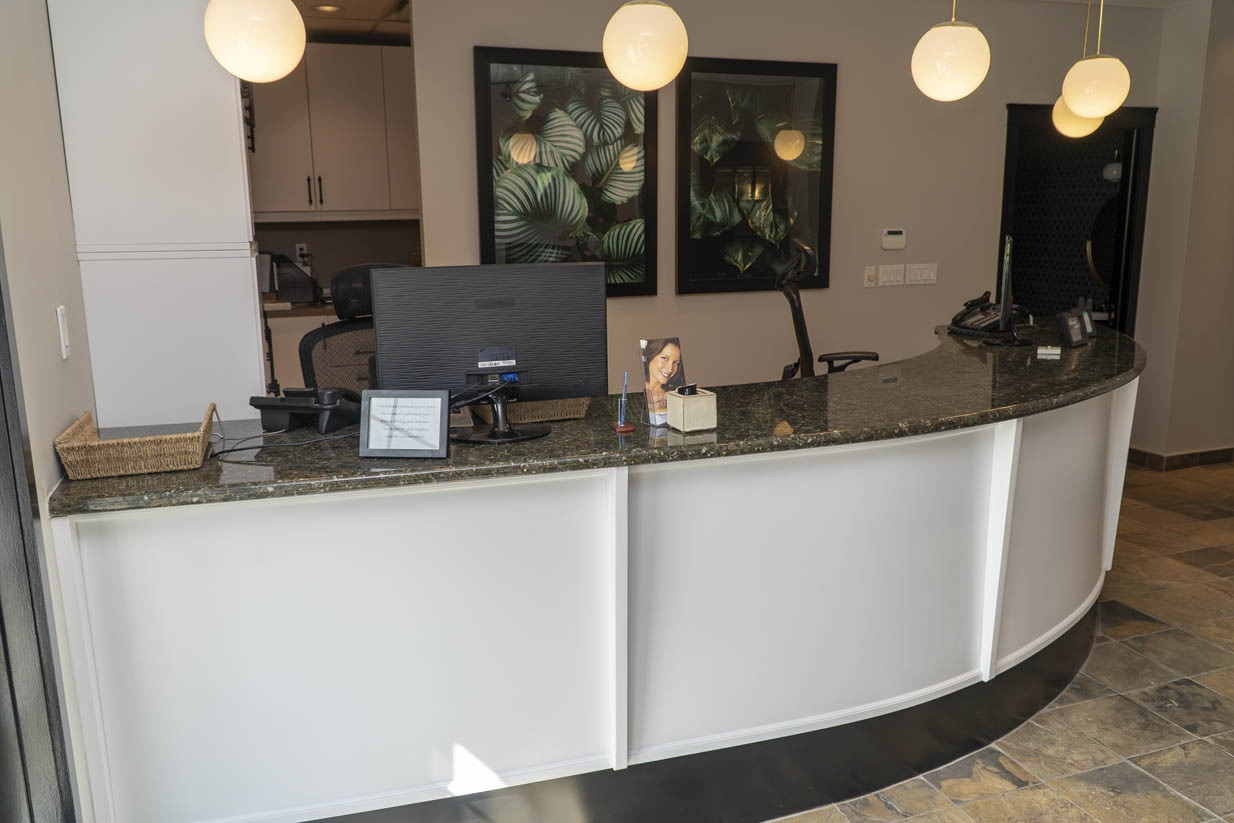 Welcome Smile Dental | Reception Desk